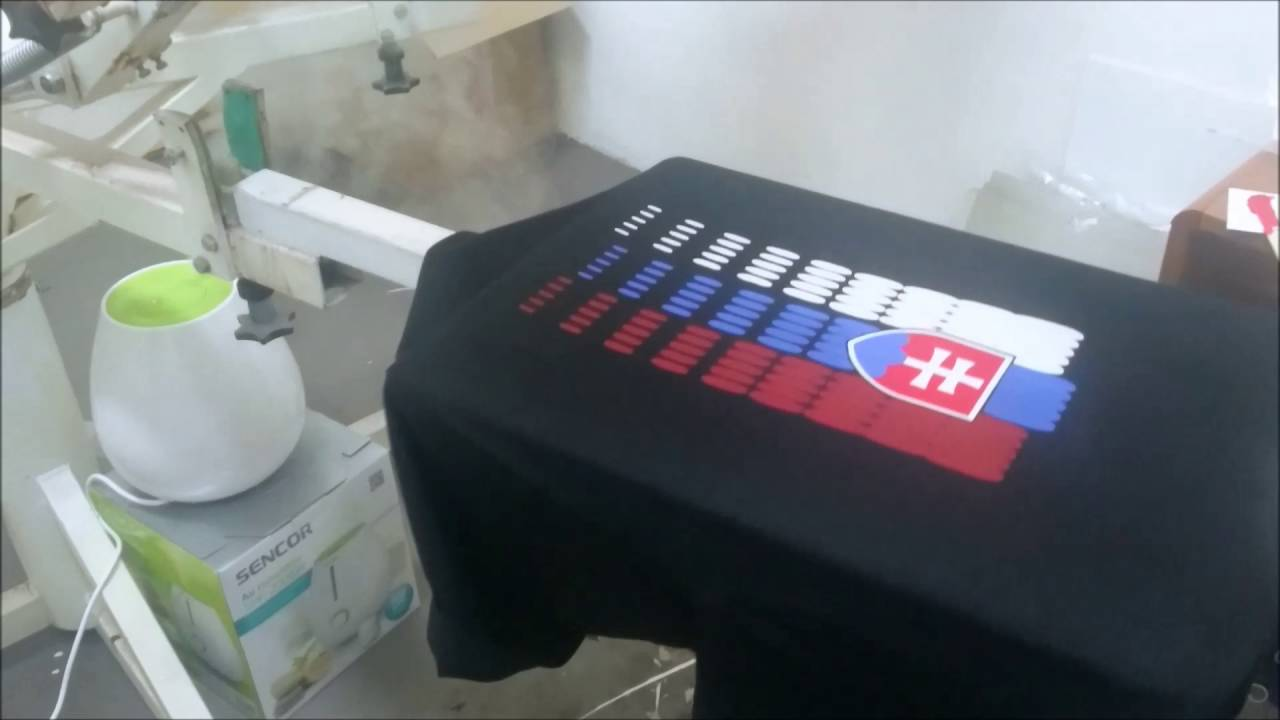 1c037588782c Sieťotlač na textil - Slovensko - YouTube