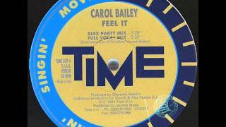 Carol Bailey - Feel It [Alex Party Mix]