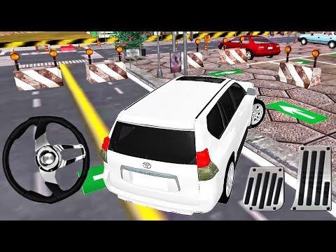 Prado Parking Adventure 2019 - White Jeep Car 3D - Best Android GamePlay