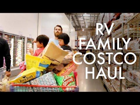 COSTCO HAUL : FAMILY OF 11 : RV Full-time w/9 kids