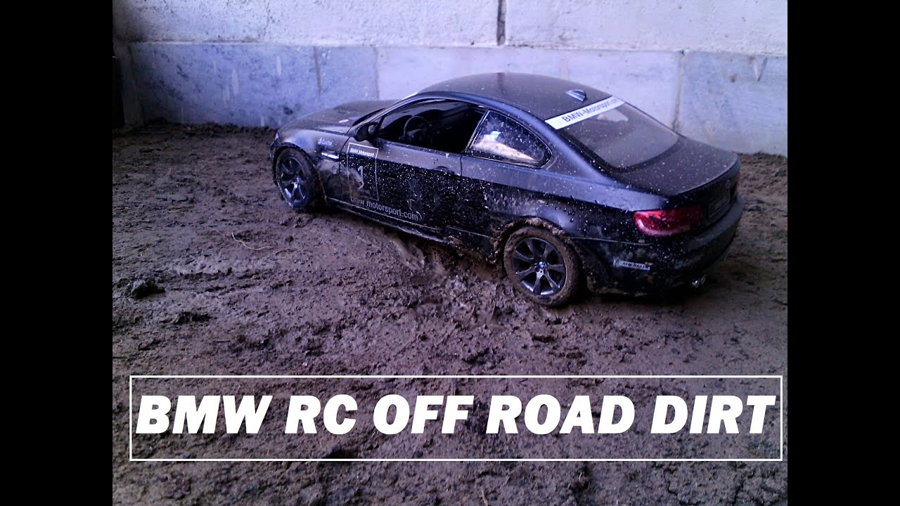 Bmw M3 Rc Car Rastar 1 14 Off Road Dirt Driving Youtube