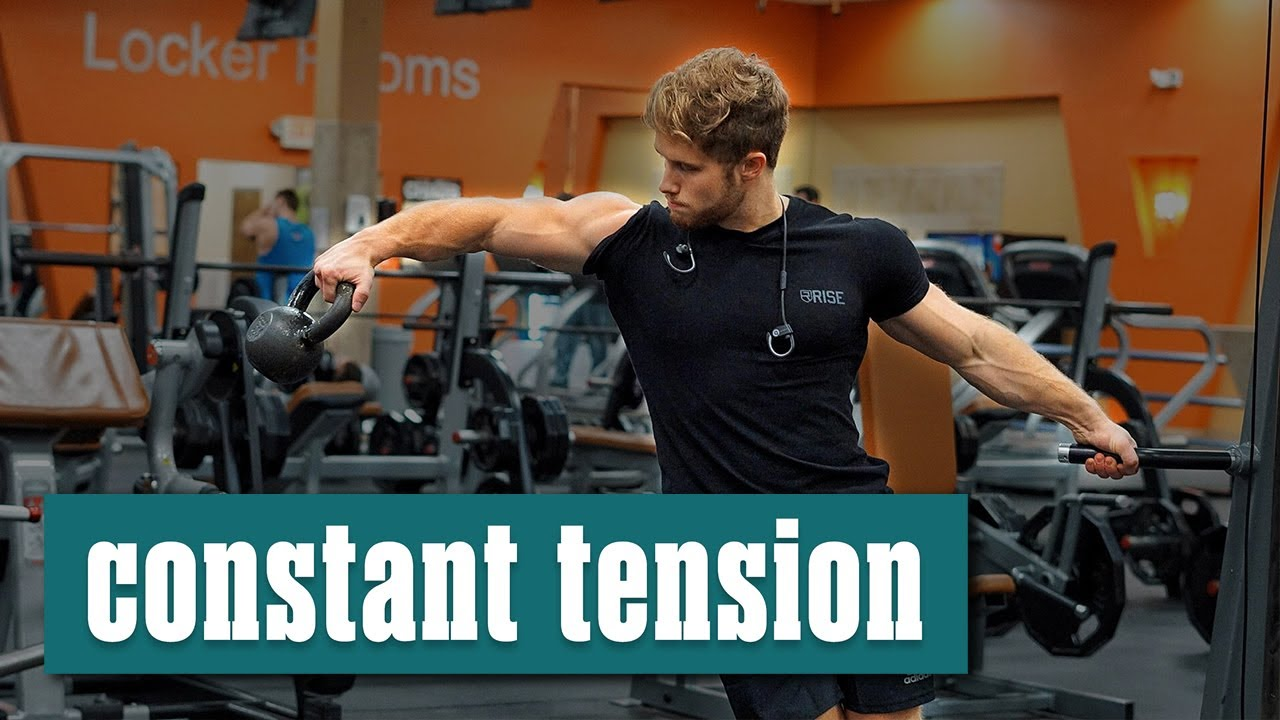 How to get massive arms by constant tension