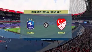 France Get Destroyed By Invisible Man | FIFA 20 Gameplay | France vs Turkey | PS4