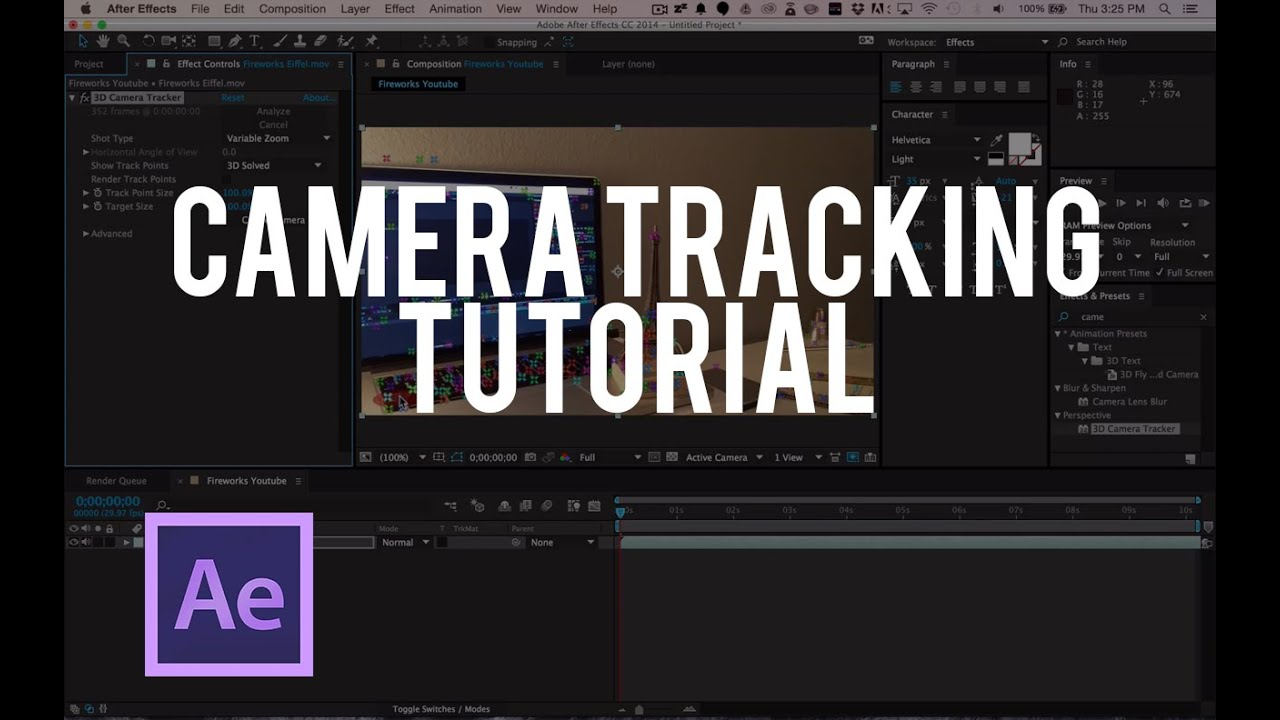 Integrate CG and VFX into live action sequences using these top 3D tracking tools.