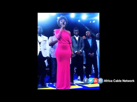 Becca sings Ghana's National Anthem