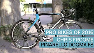 Pro bikes of 2016: Chris Froome's Pinarello Dogma F8 | Cycling Weekly