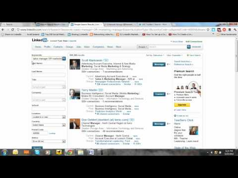 How to Use LinkedIn Advanced Search With Boolean Operators