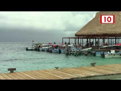 Clima Nublado Para La Mayor Parte De Quintana Roo