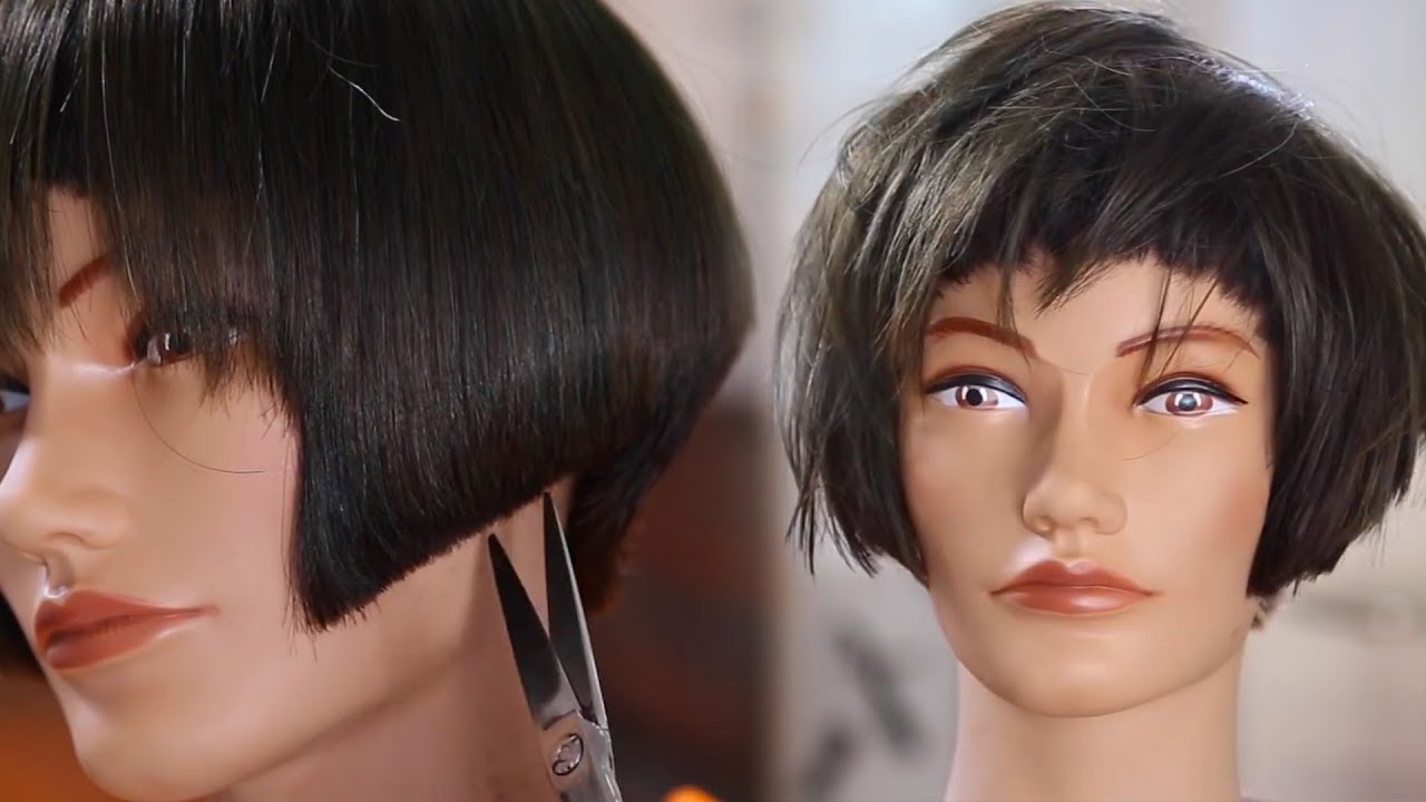 Chic Short Bob Haircut Tutorial + Bonus Block Color Technique