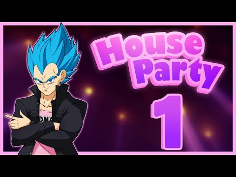 """Prince Of Parties"" Vegeta Plays House Party - Part 1"