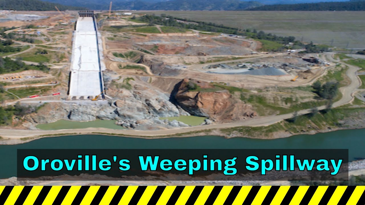 Headlines With A Voice Oroville's Weeping Spillway