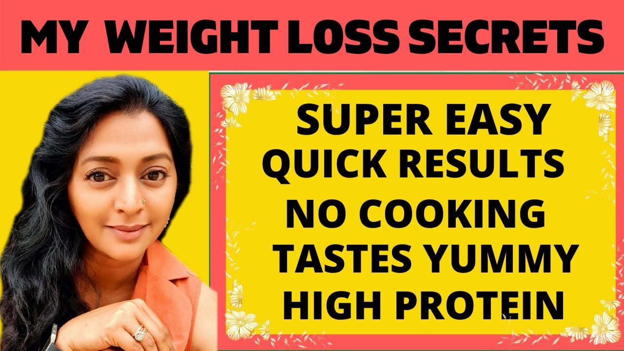 3 Weight Loss Secrets That Work | Actress GayatriJayaraman Weight Loss Tips | No Cooking Lose Weight