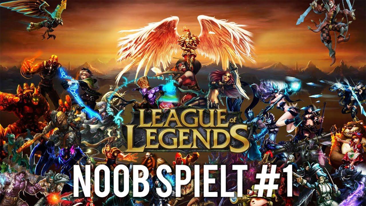 Noob spielt #1: League of Legends - Was zur Hölle?! (FHD 60FPS)