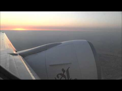 Emirates B777-300ER Full Flight From Cairo To Dubai 1080p HD