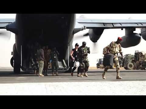 DFN: Flintlock 2018 airfield operations, NIAMEY, NIGER, 04.10.2018