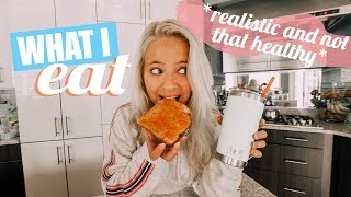what I eat in a day *realistic and not that healthy*