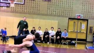 Wrestler gets it up the BUTTTTTTTT