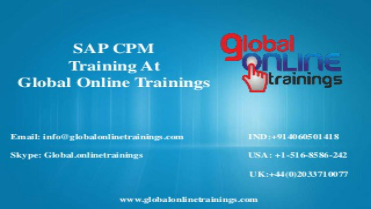 Sap cpm training video sap commercial project management course sap cpm training video sap commercial project management course demo youtube xflitez Image collections