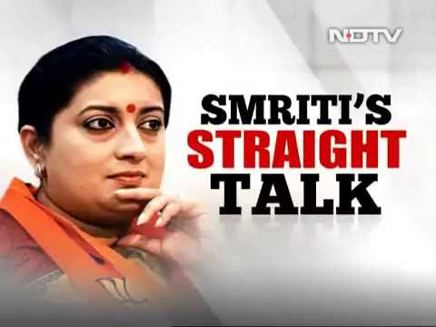 26-05-2016 smriti irani support in amethi is shocking -  barkha dutt