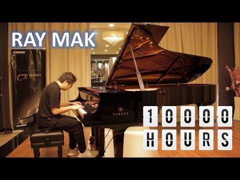 Dan + Shay, Justin Bieber - 10,000 Hours Piano by Ray Mak