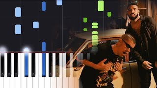 Bad Bunny Feat. Drake Mia Piano Tutorial.mp3