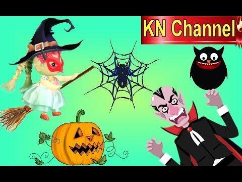 KN Channel Halloween Fun   BÚP BÊ CHỐNG LẠI MA CÀ RỒNG DRACULA