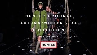 Hunter Original Autumn/Winter 2014 London Fashion Week Show