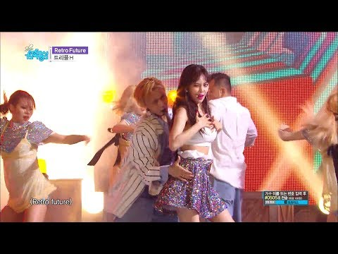 【TVPP】TRIPLE H - Retro Future, 트리플 에이치 –레트로 퓨쳐 @show Music Core