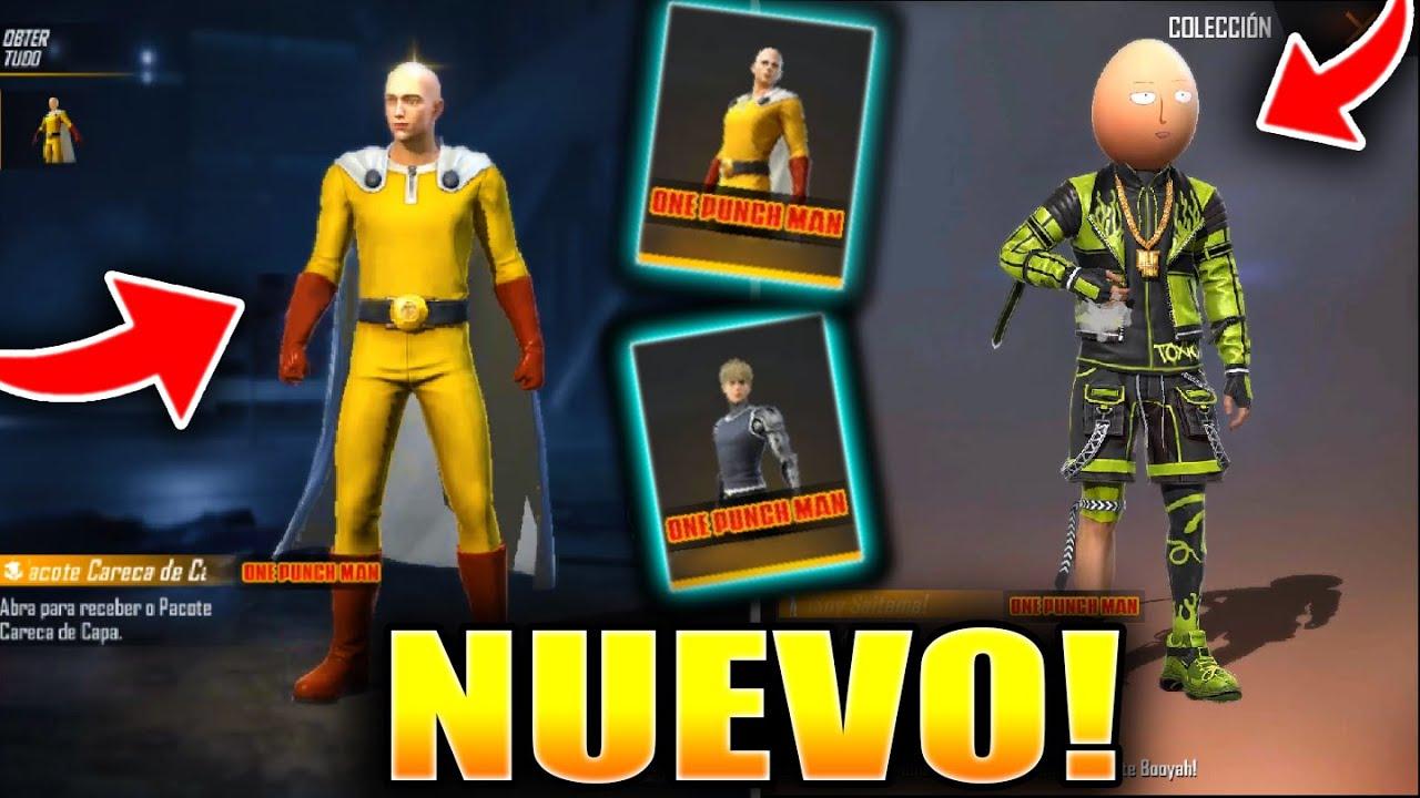 Ya Salio Free Fire X One Punch Man Nuevas Skins Emotes Y Novedades Todo Lo Que Tienes Que Saber Youtube