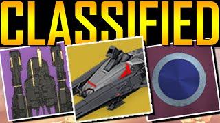 Destiny - CLASSIFIED ITEMS!