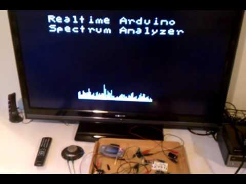 Arduino FFT Demo - Eliot Lash
