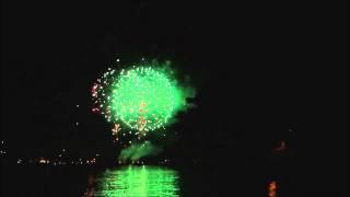 Feuerwerk Seenachtsfest Konstanz 2011 Deutschland