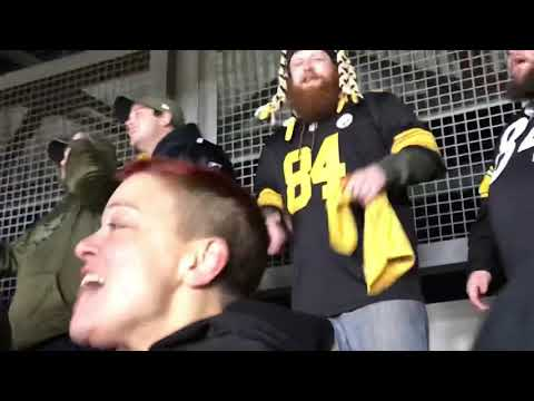 Steelers fans react to ending of Ravens vs. Browns (Week 17)