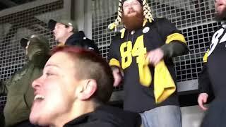 Steelers fans react to ending of Ravens vs. Browns (Week 17)