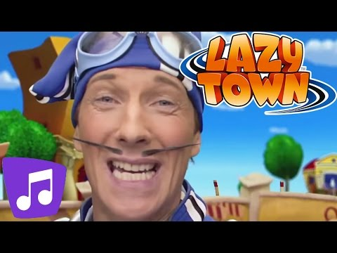 Lazy Town | Energy | Music Video | Kids Karaoke