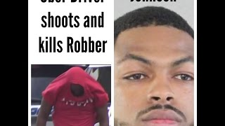 Uber Driver Shoots Robber in Miami
