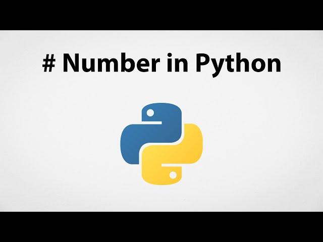 Understanding Number in Python | Python for Beginners