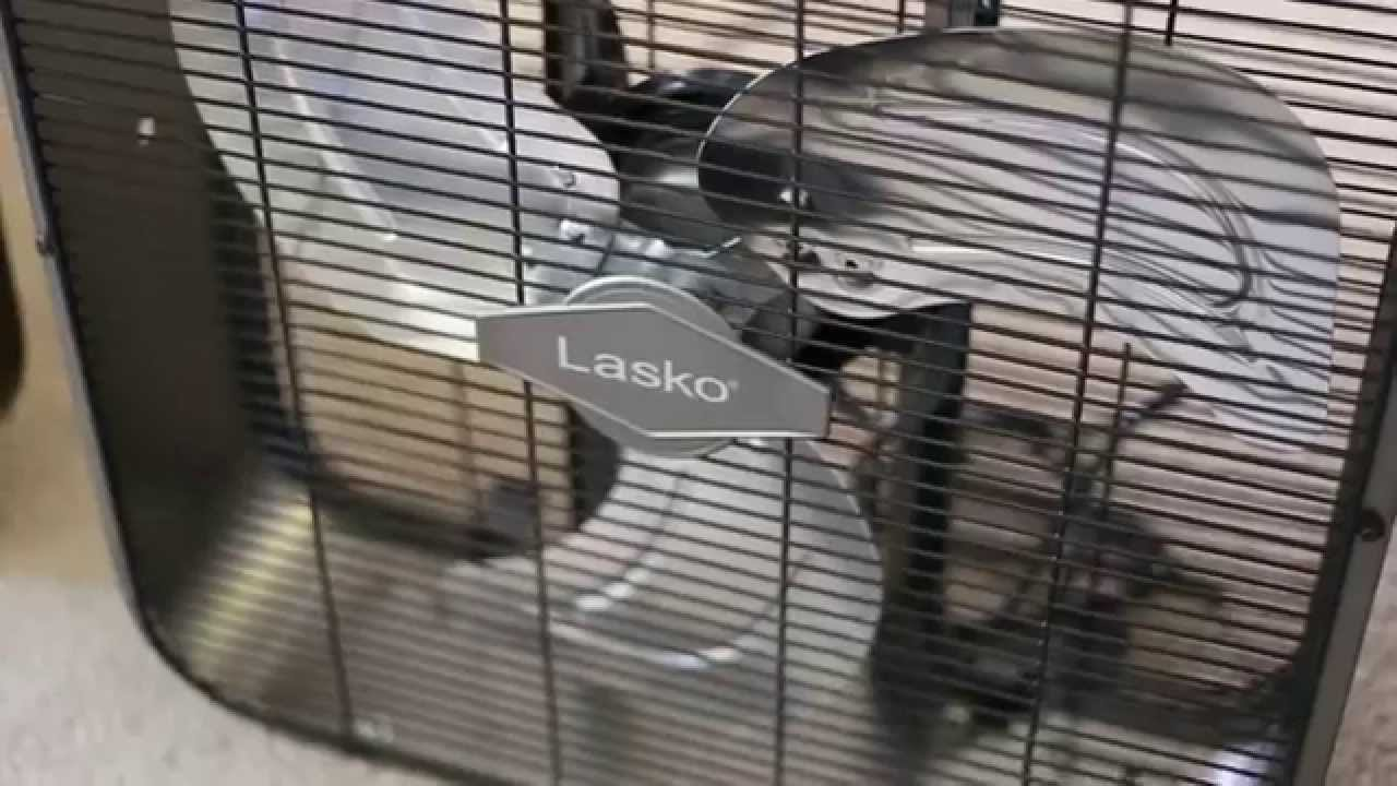 Lasko B20725 20 Quot Metal Box Fan Review And Comparison Youtube