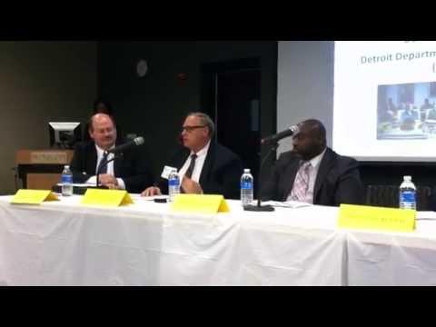 Jim Fetzer (SMART), Dan Dirk (DDOT), Ernest Latham (Detroit People Mover)