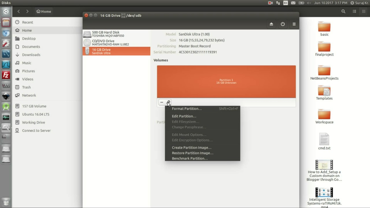 How To Fix Error Pendrive Is Not Recognized In Ubuntu Linux