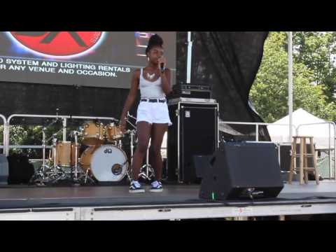 Tayahna Performing @ the 2017 Jerk, Roots, & Yam Festival | Roy Wilkins Park