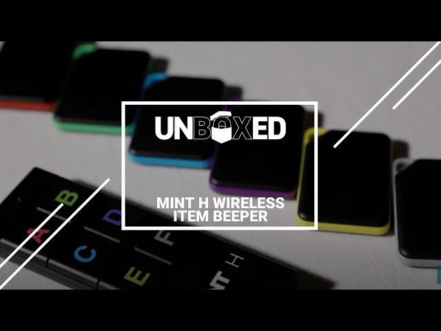 UNBOXED: Mint H Wireless Item Beeper