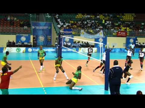 Cameroon V Kenya in Pool B of Women's All Africa Games
