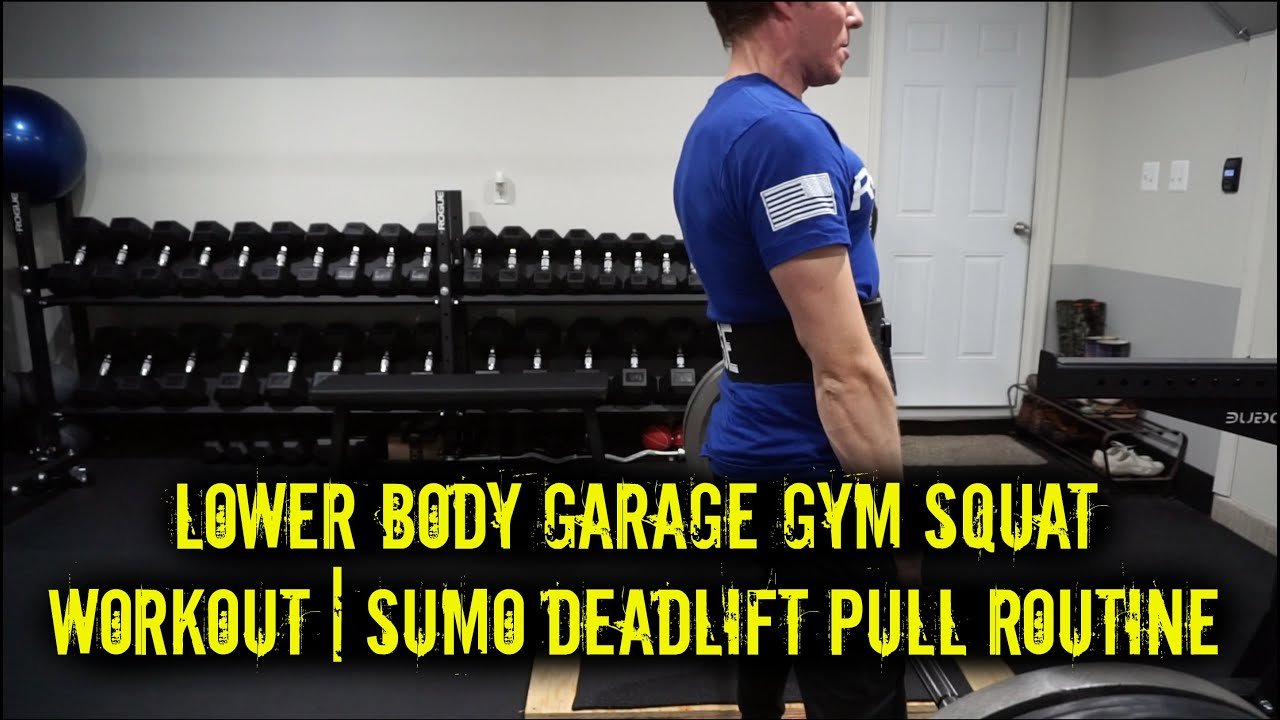 Lower body garage gym squat workout cc s christmas dance