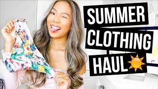 Summer Clothing Haul 2017 + New Hair?! || Farina Aguinaldo