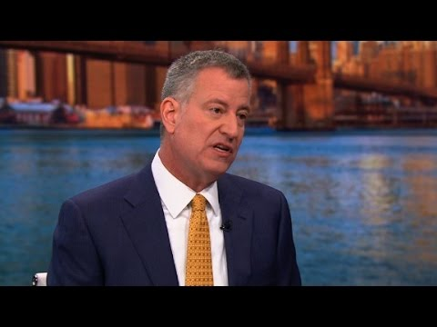 De Blasio: I'll defy Trump on sanctuary cities