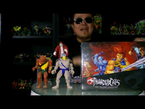 Thundercats unboxing de serie animada
