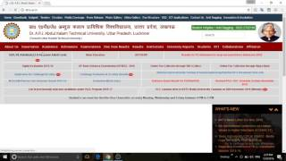 How to download admit card from AKTU EX,CARRY OVER AND REGULAR STUDENTS.