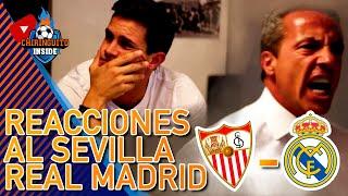 Cristóbal Soria, DESATADO; Edu Aguirre, HUNDIDO | REACCIONES Sevilla 3-0 Real Madrid