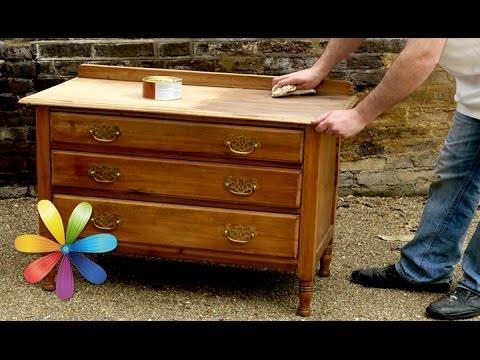 Как реставрировать старую мебель